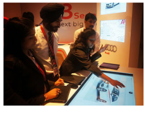 Multi Touch Interaction